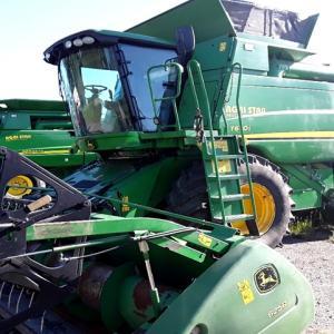 Комбайн зернозбиральний John Deere T670 2010 р.в